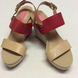 Isaac Mizrahi New York Wedge Sandals